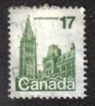 Sellos del Mundo : America : Canadá : Torre 17