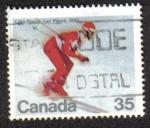 Sellos del Mundo : America : Canadá : Lake Placid 1980
