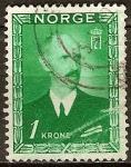 Sellos del Mundo : Europa : Noruega : El rey Haakon VII.
