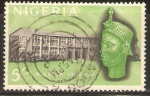 Stamps of the world : Nigeria :  MUSEO   Y   ESCULTURA