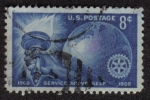 Stamps United States -  Rotary International 1905-1955