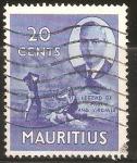 Sellos de Africa - Mauricio -  LEYENDA   DE   PAUL   Y   VIRGINIE