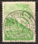 Sellos de Africa - Mauricio -  MONTAÑAS   DE   PIETER  BOTH