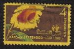 Sellos de America - Estados Unidos -  Centenário de kansas