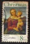 Sellos de America - Estados Unidos -  Raphael National Gallery of Art