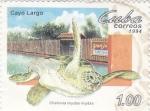 Stamps Cuba -  Cayo Largo- granja de tortugas Chelonia Mydas Mydas