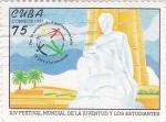 Sellos de America - Cuba -  XIV Festival Mundial de al Juventud y los estudiantes
