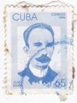 Sellos de America - Cuba -  José Martí