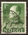 Sellos del Mundo : Europa : Noruega : Rey Olav V.
