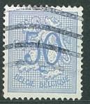 Sellos de Europa - Bélgica -  Escudo 50 c.