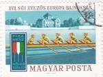 Stamps Hungary -  XVII Competición de Regata