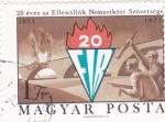 Sellos de Europa - Hungría -  20 Aniversario de la resistencia de Nemzetközi