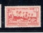 Stamps Europe - Guadeloupe -  Martinica: Villa de Basse-Pointe
