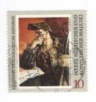 Sellos del Mundo : Europa : Alemania : Galeria de pinturas de Dresde:Trabajadores del acero