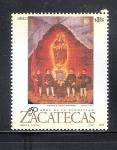 Sellos de America - México -  450 aniversario de la fundación de Zacatecas