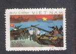 Sellos de Asia - Vietnam -  Liberación de Vietnam del Sur por el Vietcong, Da Nang