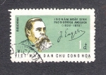 Sellos del Mundo : Asia : Vietnam : 150 aniversario del nacimiento de Federico Engels