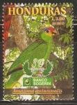 Stamps : America : Honduras :  AVES   EN   PELIGRO   DE   EXTINCIÒN.   AMAZONA   CANICULARIS