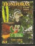 Stamps : America : Honduras :  AVES   EN   PELIGRO   DE   EXTINCIÒN.   CRAX   RUBRA