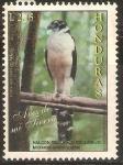 Stamps : America : Honduras :  AVES   DE   MI   TIERRA.   HALCÒN   SELVÀTICO   COLLAREJO