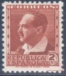 Stamps Spain -  ESPAÑA 662 PERSONAJES Y MONUMENTOS