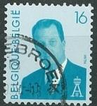 Sellos de Europa - Bélgica -  Alberto II - 16