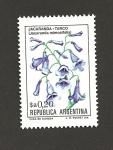 Stamps Argentina -  Jacaranda
