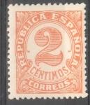 Sellos de Europa - España -  ESPAÑA 678 CIFRAS