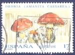 Stamps Spain -  Edifil 3245 Oronja Amanita Caesarea 17