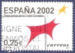 Stamps Spain -  Edifil 3865 Presidencia de la Unión 0,25 (2)