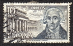 Stamps Spain -  Juan de Villanueva