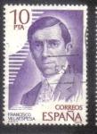 Stamps Spain -  Francisco Villaespesa