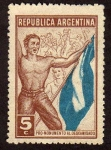Stamps of the world : Argentina :  Pro Monumento al Descamisado