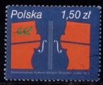 Stamps : Europe : Poland :  2466- concurso internacional de Violin en Lublin