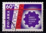 Sellos de Europa - Polonia -  VI congreso de técnicos