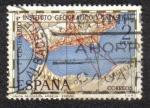 Sellos del Mundo : Europa : España : 1er Centenario Instituto Geográfico y Catastral