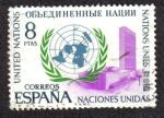 Sellos del Mundo : Europa : España : Naciones Unidas