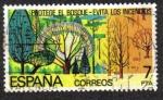 Sellos de Europa - España -  Protege el Bosque - Evita Incendios
