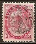 Sellos del Mundo : America : Canadá : La Reina Victoria.