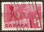 Sellos del Mundo : America : Canadá : Comercio de exportación.