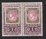 Sellos de Europa - España -  Centenario primer sello dentado