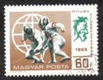 Stamps Hungary -  Pentatlón moderno Campeonato del Mundo 1969