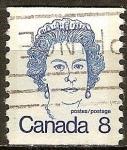 Sellos del Mundo : America : Canadá : La Reina Isabel II.