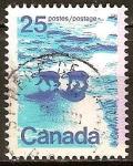 Sellos de America - Canadá -  Los osos polares.