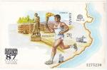 Stamps : Europe : Spain :  Hojita- EXFILNA-87 -venta-   (6)