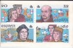 Stamps : Europe : Spain :  carné-V CENTENARIO DEL DESCUBRIMIENTO DE AMÉRICA 1492-1992 -venta (6)