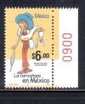 Stamps of the world : Mexico :  La caricatura en México: La Familia Burrón
