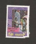 Stamps Kyrgyzstan -  Artesanía popular