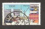 Sellos de Europa - Alemania -  2091 - Edificios en Leipziger Strasse