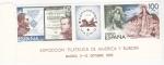 Stamps : Europe : Spain :  EXPOSICIÓN FILATÉLICA DE AMERICA Y EUROPA -venta- (6)